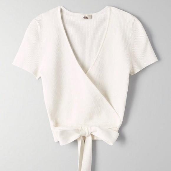 Aritzia Prunella knit top